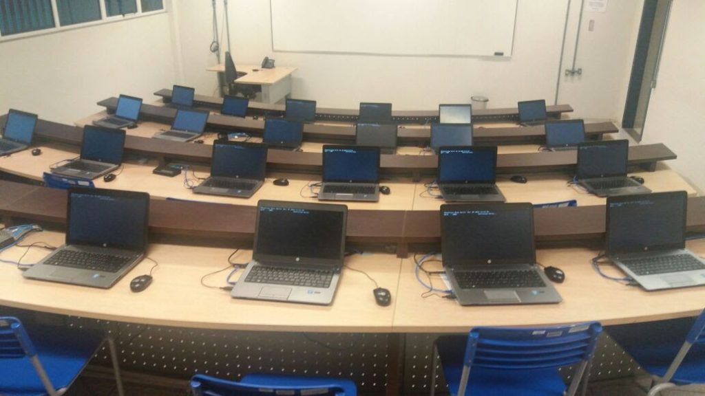 Sala de aula ANPRF