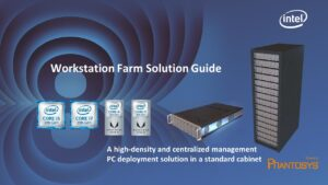 Intel Workstation Farm Powered by Phantosys